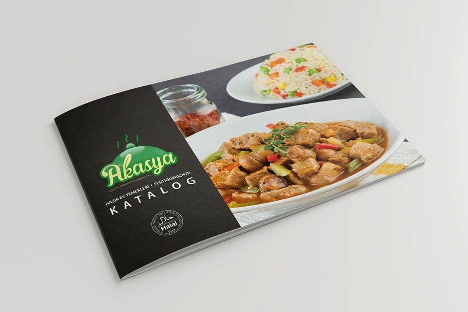 Akasya katalog tasarımı
