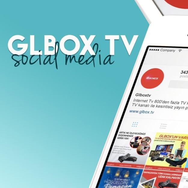glbox tv social media