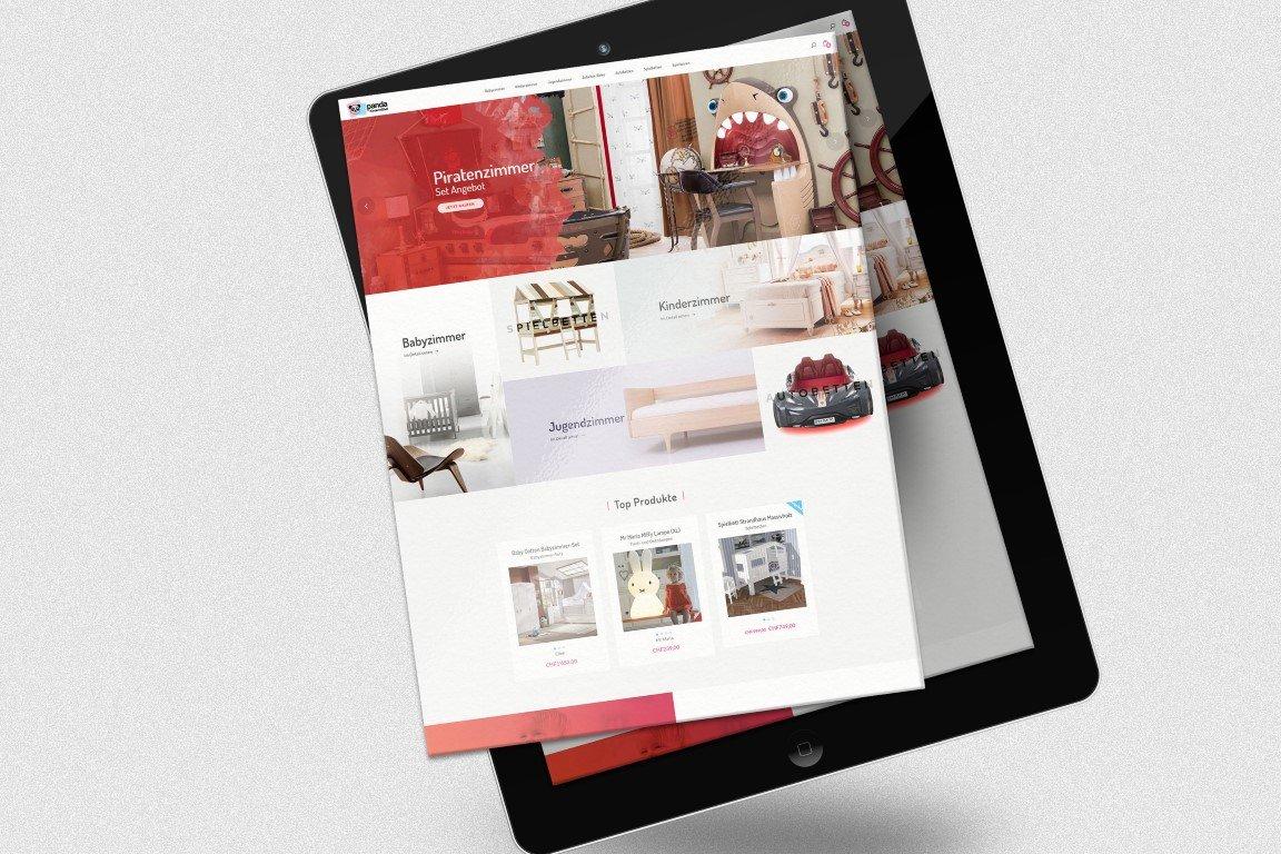 Kindermöbel design  Panda Kindermöbel Kurumsal Website Tasarımı - Tutus Media