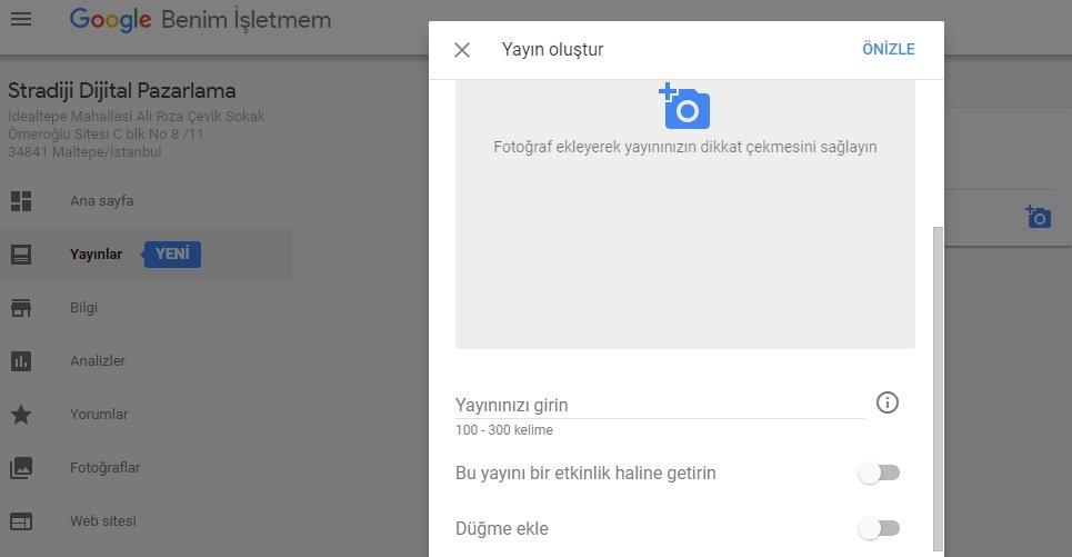 google-my-business-yayin-secenekleri