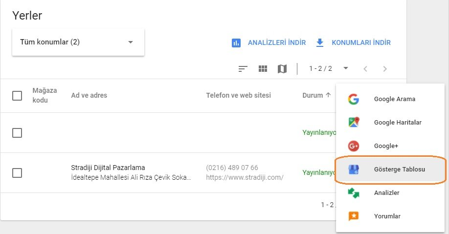 google-my-business-yayinlar-dashboard