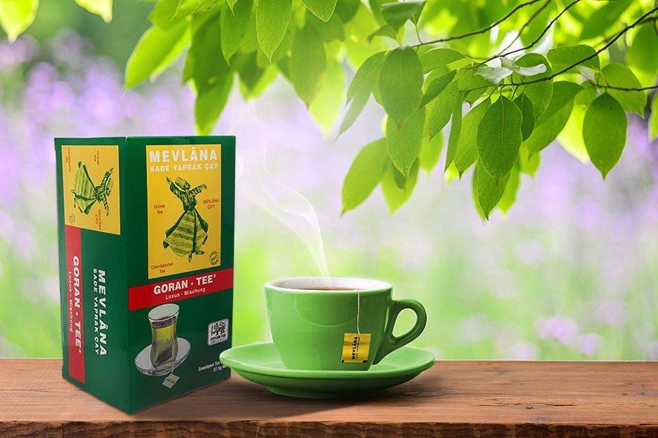 Mevlana poşet yeşil çay için reklam filmi hazırladık