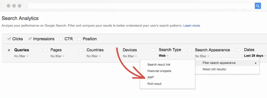 google-search-analytics-snippets-rich-results