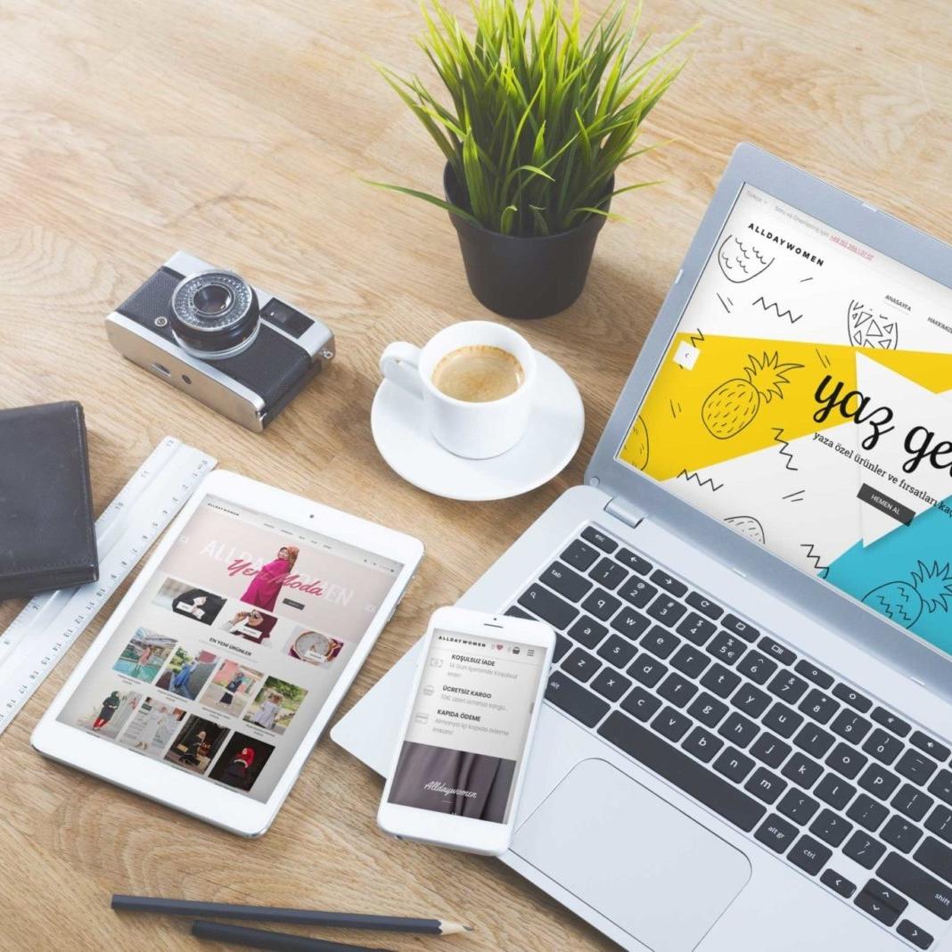 AllDayWomen Kurumsal Website Tasarımı 1